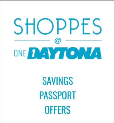 Savings passport for Shoppes at One Daytona