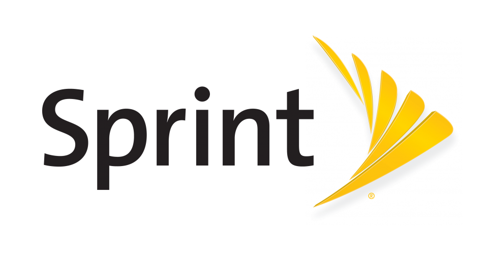 Sprint Horizontal Logo Yb With Register Mark