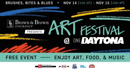 Art Festival at ONE DAYTONA Moved to November 2020